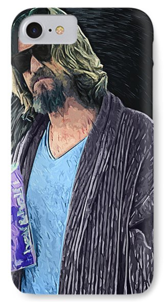 The Dude IPhone Case by Taylan Apukovska