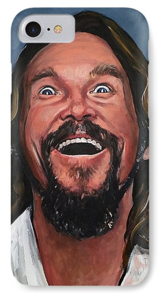 The Dude Phone Case by Tom Carlton