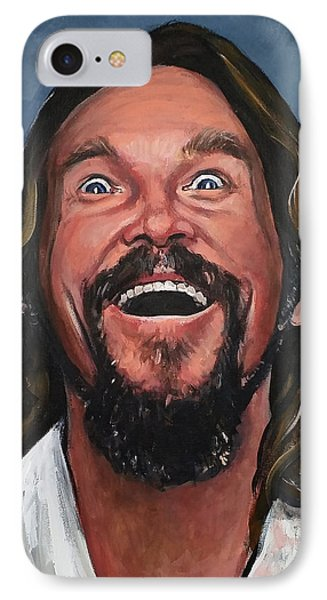 The Dude IPhone Case by Tom Carlton