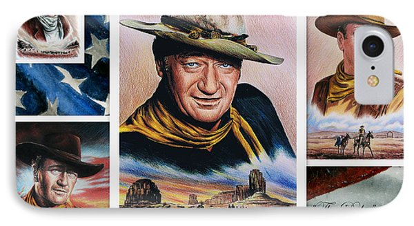 The Duke American Legend Phone Case by Andrew Read