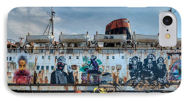 The Duke Of Graffiti Phone Case by Adrian Evans