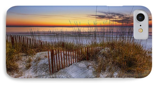 The Dunes At Sunset Phone Case by Debra and Dave Vanderlaan