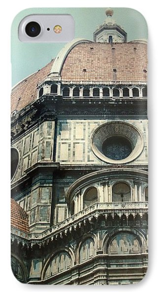 The Duomo Firenze IPhone Case by Melinda Saminski