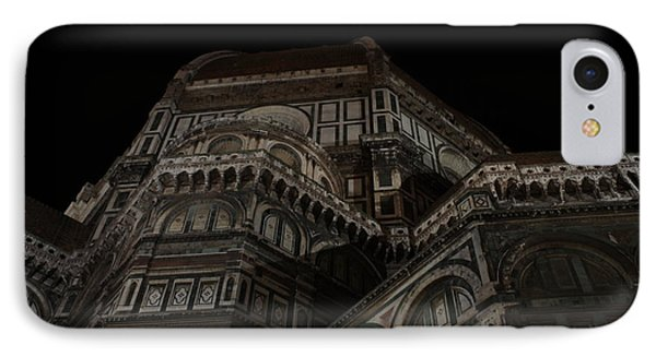 The Duomo In The Dark IPhone Case by Kitrina Arbuckle
