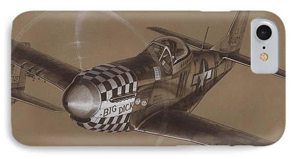 The Duxford Boys Drawing Phone Case by Wade Meyers
