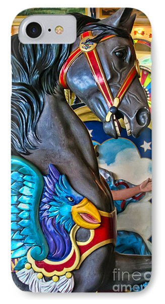The Eagle And Horse Phone Case by Colleen Kammerer
