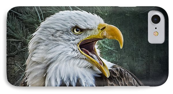 IPhone Case featuring the photograph The Eagle's Cry by Brian Tarr