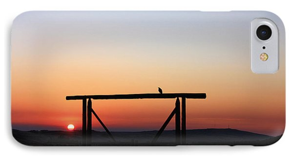The Early Bird At Sunrise IPhone Case