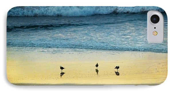 The Early Birds Phone Case by Ellen Cotton