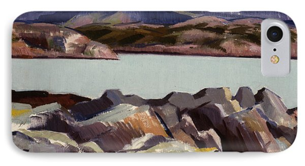 The East Bay  Iona IPhone Case by Francis Campbell Boileau Cadell