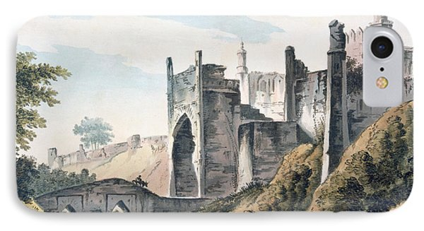 The East End Of The Fort Of Mongheer IPhone Case by William Hodges