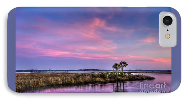 The Edge Of Night IPhone Case by Marvin Spates