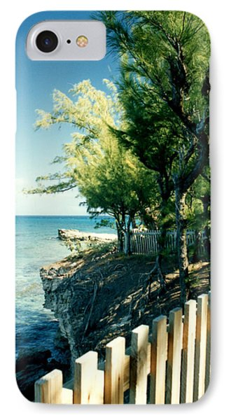 The Edge Of The Island IPhone Case by Susan Duda