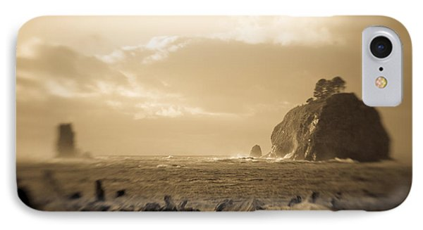 IPhone Case featuring the photograph The Edge Of The World by Takeshi Okada
