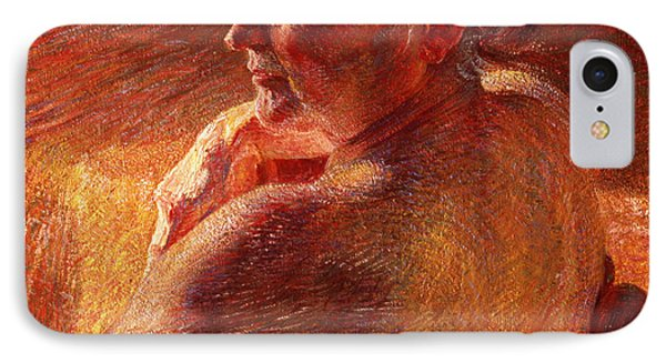The Effect Of Sunlight Phone Case by Umberto Boccioni