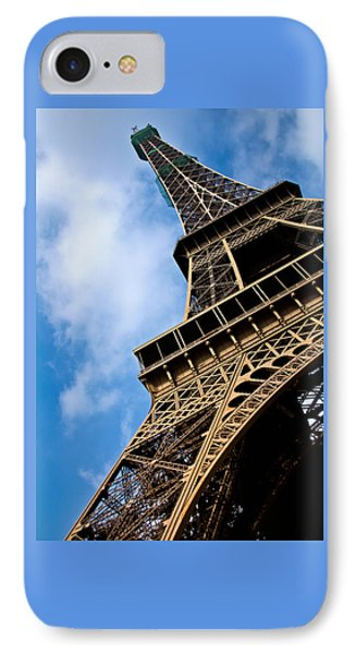 The Eiffel Tower From Below IPhone Case