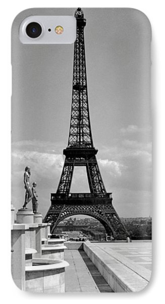 The Eiffel Tower IPhone Case by Underwood Archives