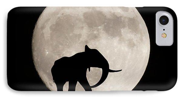 The Elephant IPhone Case by Ernie Echols
