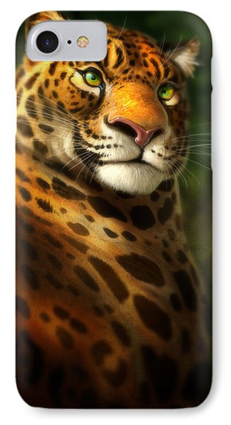 The Emerald Kingdom IPhone Case by Aaron Blaise