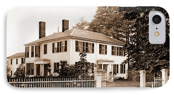 The Emerson House, Concord, Emerson House Concord IPhone Case