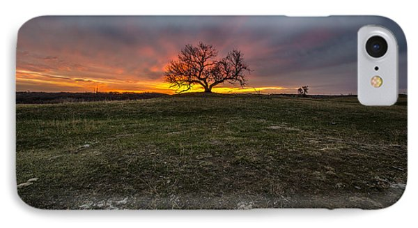 The Eminija Mounds Dusk Version IPhone Case by Aaron J Groen