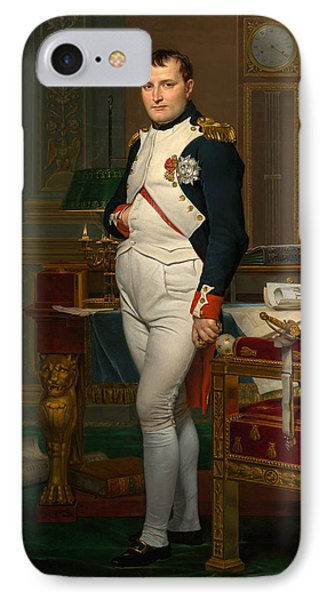 The Emperor Napoleon In His Study At The Tuileries IPhone Case