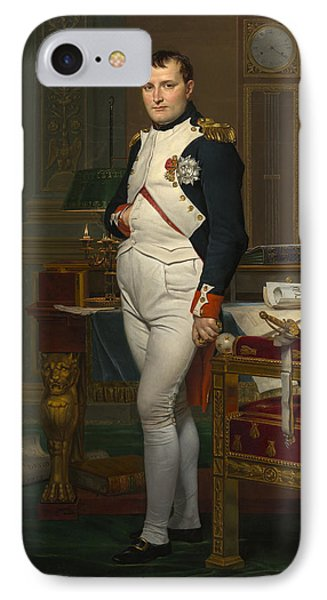 The Emperor Napoleon In His Study Phone Case by Mountain Dreams