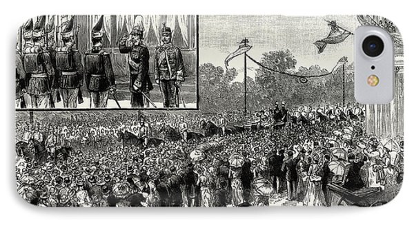 The Emperor Of Austrias Visit To Berlin IPhone Case