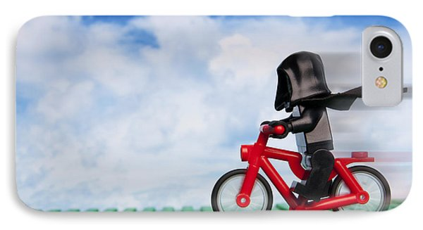 The Emperor's New Bike IPhone Case