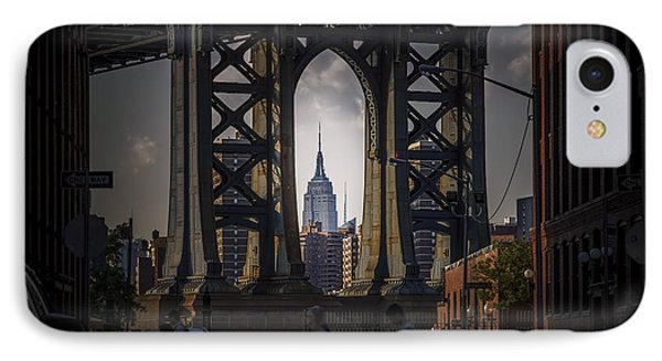 IPhone Case featuring the photograph The Empire State  by Anthony Fields