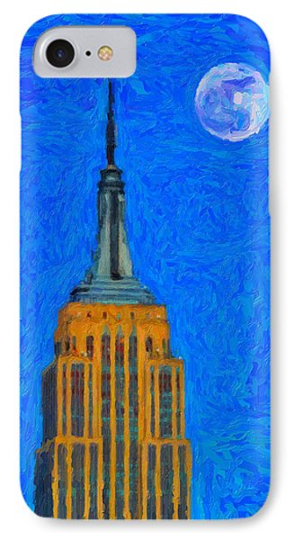 The Empire State Building IPhone Case by Celestial Images