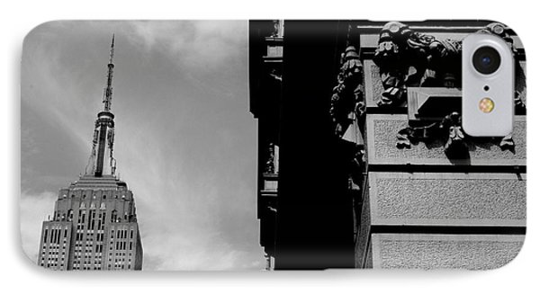 IPhone Case featuring the photograph The Empire State Building by Steven Macanka