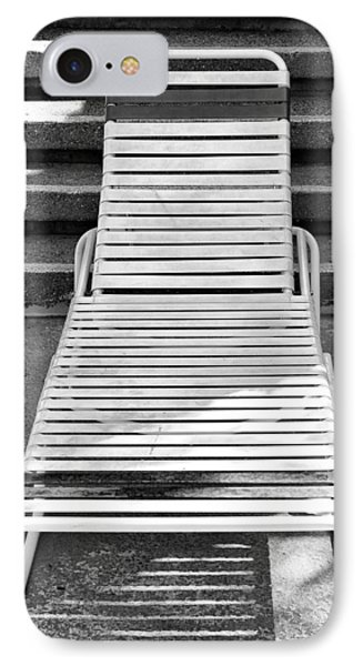 The Empty Chaise Palm Springs IPhone Case