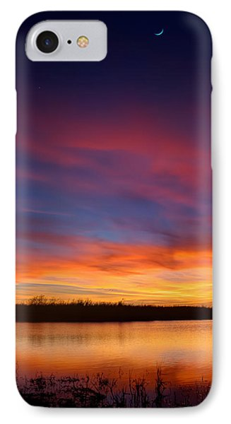 The End Is The Beginning IPhone Case by Mark Andrew Thomas