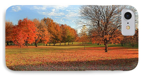 IPhone Case featuring the photograph The End Of Autumn In Francis Park by Scott Rackers