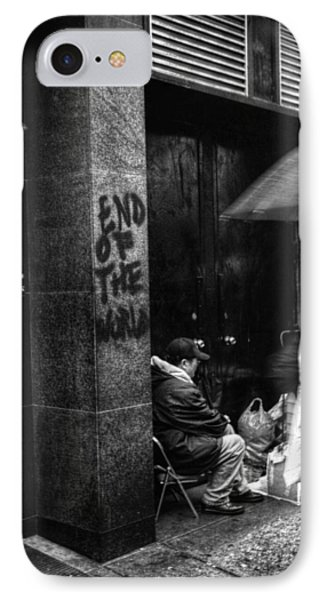 The End Of The World IPhone Case by Linda Unger