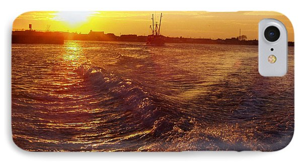 The End To A Fishing Day IPhone Case by John Telfer