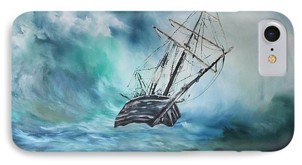 The Endurance At Sea IPhone Case by Jean Walker