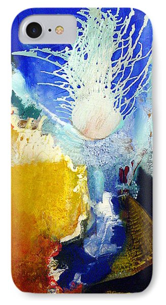 IPhone Case featuring the painting The Enduring by Carolyn Goodridge
