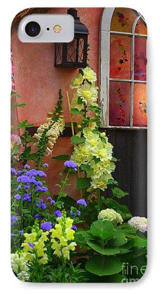 The English Cottage Window IPhone Case by Dora Sofia Caputo Photographic Art and Design