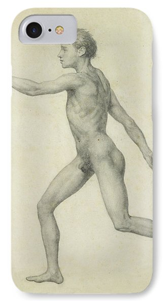 The Entire Human Figure From The Left Lateral View Phone Case by George Stubbs