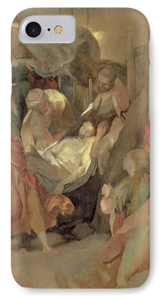 The Entombment Of Christ IPhone Case