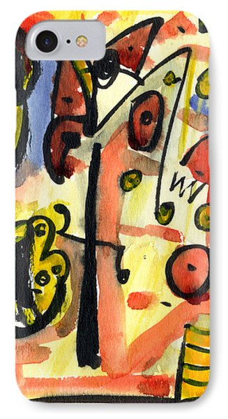 IPhone Case featuring the painting The Equation by Stephen Lucas