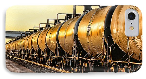 The Ethanol Train IPhone Case by Bill Kesler