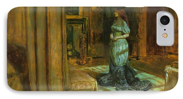 The Eve Of St Agnes Phone Case by John Everett Millais