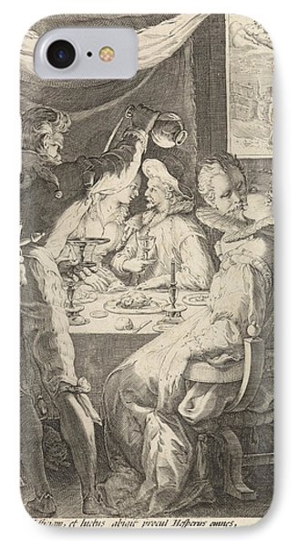 The Evening, Jan Saenredam, Cornelius Schonaeus IPhone Case