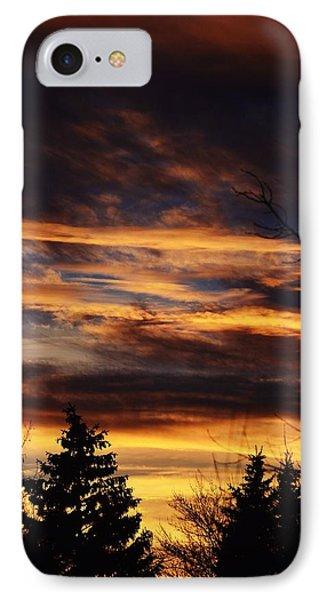 The Evening Sky IPhone Case by Nikki McInnes
