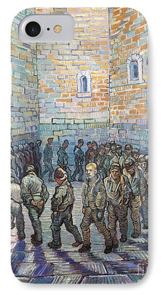The Exercise Yard IPhone Case by Vincent Van Gogh