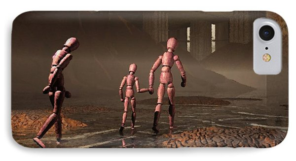 IPhone Case featuring the digital art The Exiles Sojourn by John Alexander