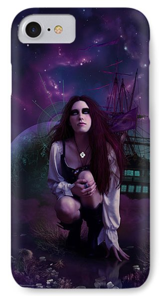 The Explorer IPhone Case by Cassiopeia Art